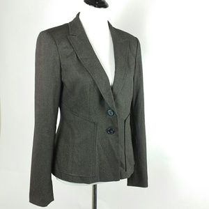 Halogen herringbone Blazer 2 button size 10
